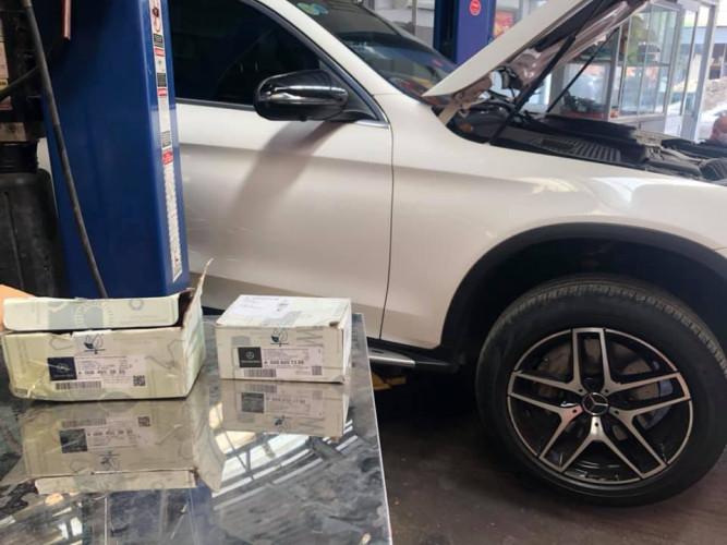 Garage sửa chữa Mercedes tại Q7